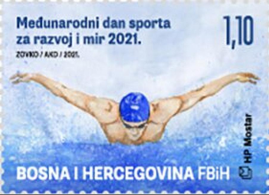 Bosnien-Herzogewina - Schmetterlingsschwimmer