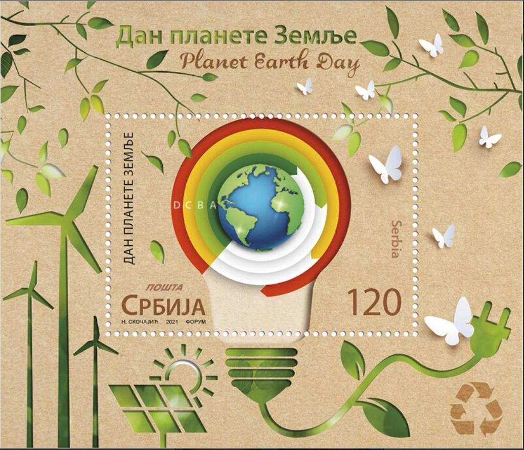 Serbien - Welt-als-Gluehbirne abhängig von der Umwelt