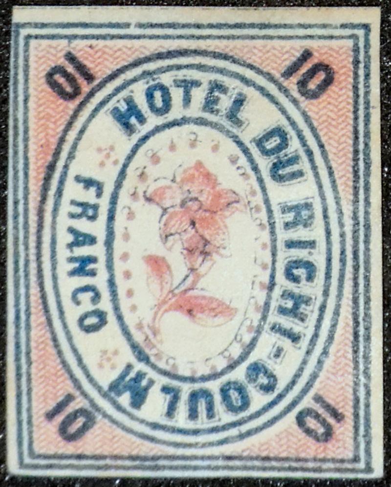 Beleg des Monats Dezember 2018 - Hotelpostmarke