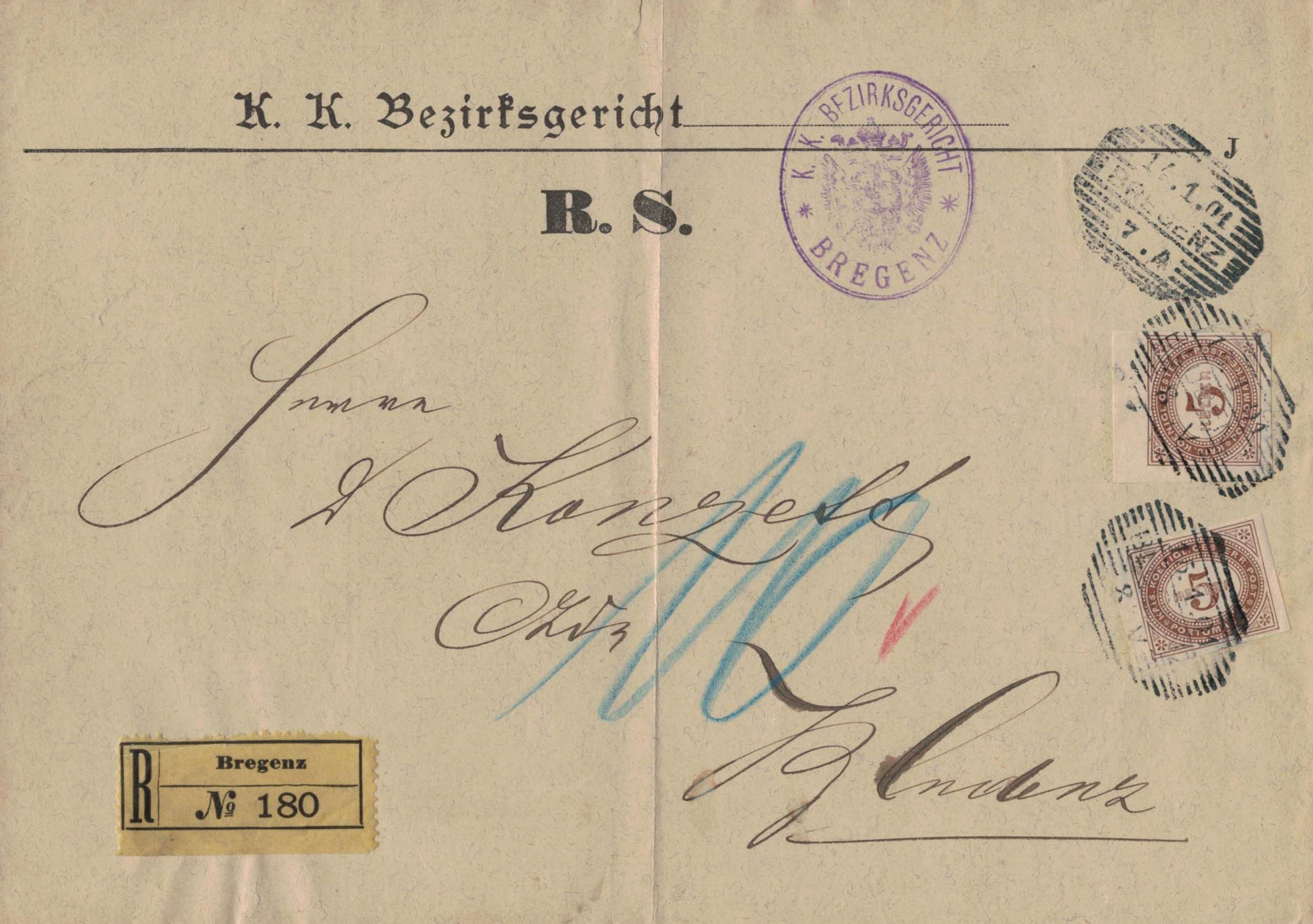 Portomarken-1899-1900