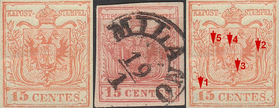 Beleg des Monats August 2019 - Mailänder Postfälschung