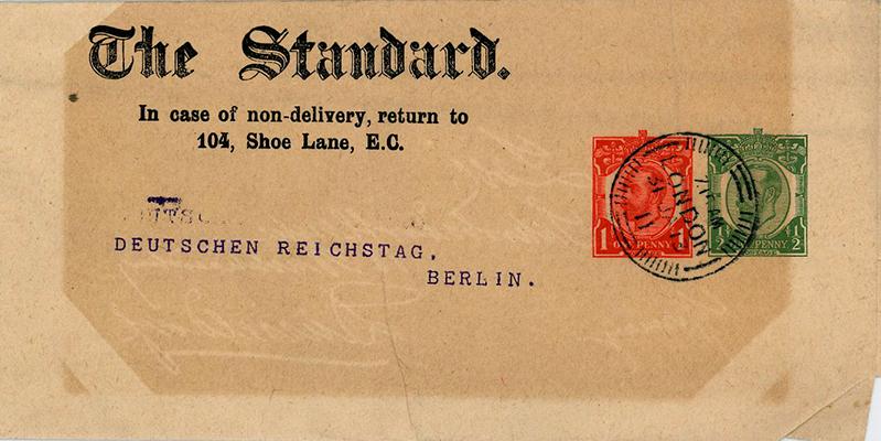 Zeitungsschleife / Zeitungsband