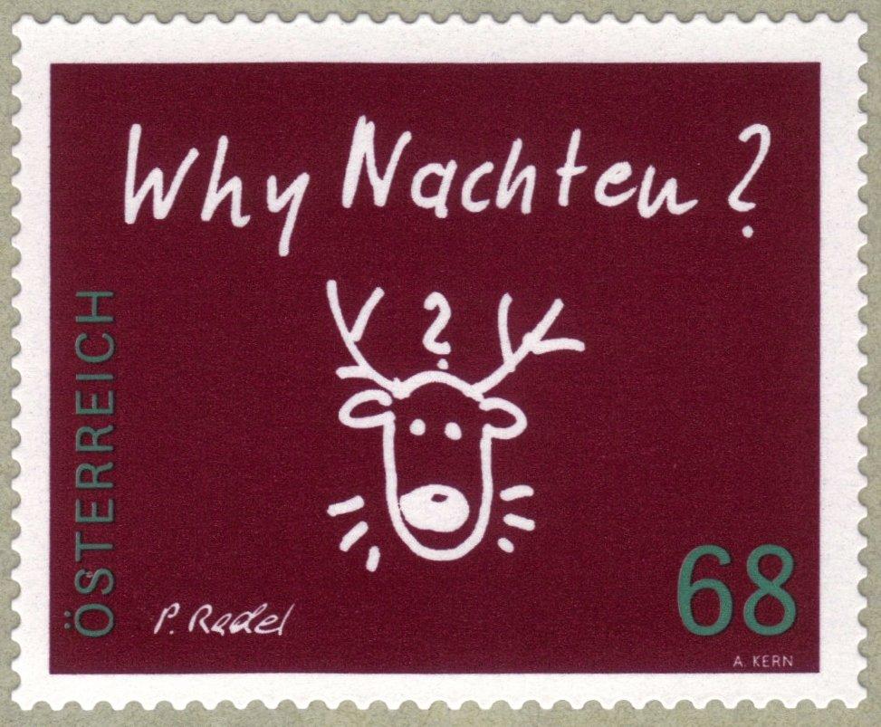 Dezember 2018 - Weihnachtsbriefmarken