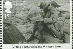 Briefeschreiben im Krieg