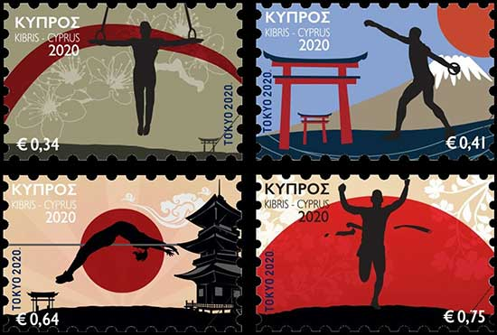 CYPRUS_2020_STAMPS_Olympic_Games_Tokyo_2020_Sports