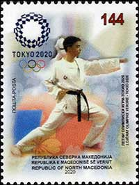 NORTH_MACEDONIA_2020_STAPM_Olympic_Games_Tokyo_2020_Karate