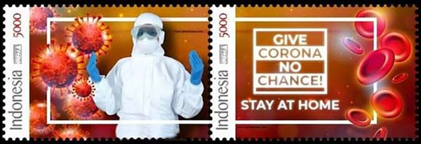 INDONESIA_2020_STAMPS_Stay_at_Home_Coronavirus_COVID-19