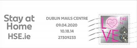 IRELAND_2020_MACHINE_SLOGAN_CANCEL_ON_PIECE_Stay_at_Home_HSEie