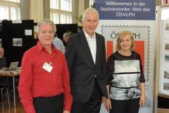 Sieghard und Luise mit dem Feldkircher Bürgermeister