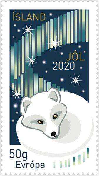Island - Fuchs - Weihnachten