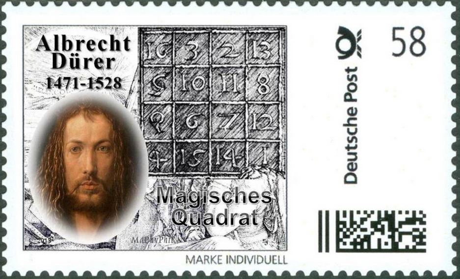 Magic Quadrat Dürer