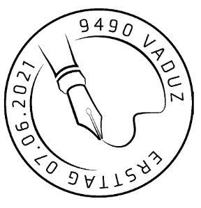 PEN 100 Jahre Stempel