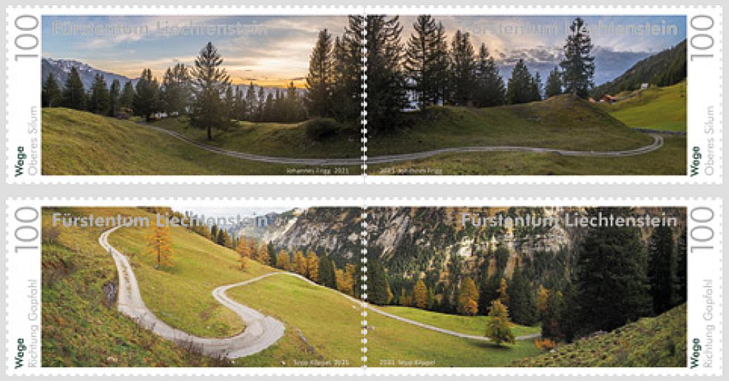 Wege in Liechtenstein