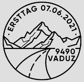 Stempel Wege in Liechtenstein