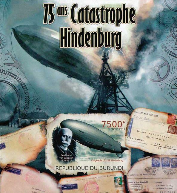 Burundi Hindenburg crash
