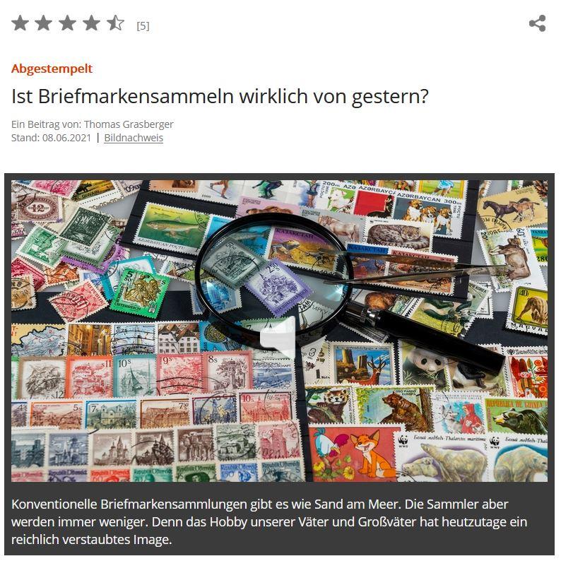 BR2 Briefmarken