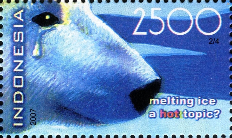 weeping polar bear