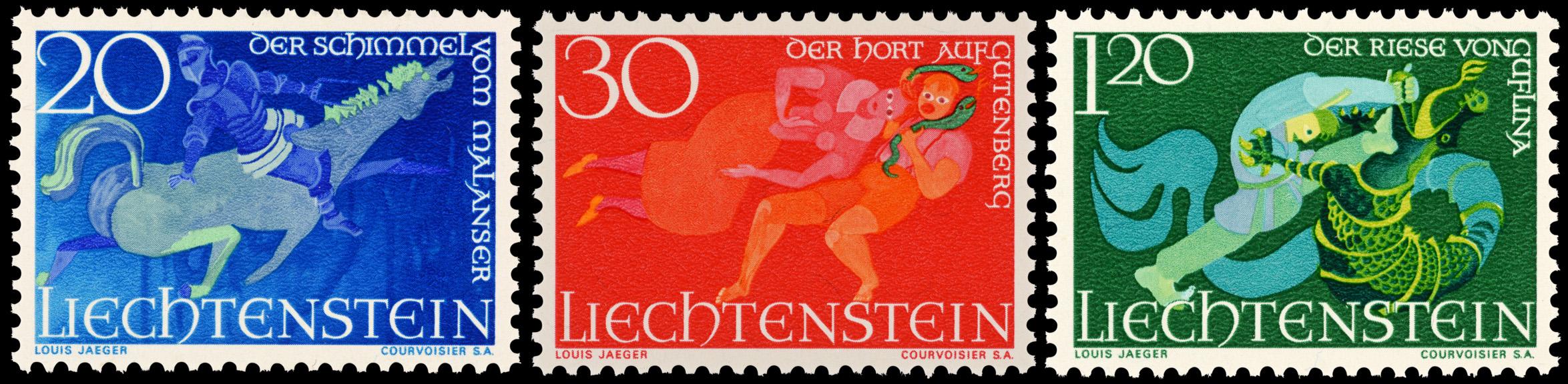 Sagen Liechtensteins